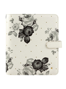 Floral Planner Love Simulated Leather Snap Binder