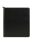 Tyler Leather Zipper Binder