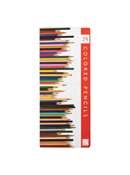 Colored Pencil Set with Sharpener