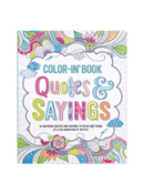 Quotes and Sayings Coloring Book