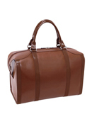 Throop Travel Leather Duffel by FranklinCovey