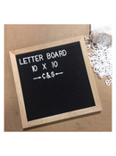 Felt Letter Board 10 x 10 by TF Publishing