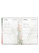 Classic Blooms Ring-bound One-Page-Per-Day Planner