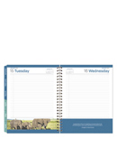 Leadership Wire-bound Six Month Planning Notebook