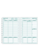 Original 100% Recycled Weekly Ring-bound Planner