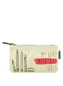 My Very Important Tools Canvas Pencil Bag