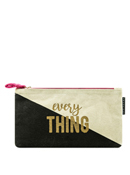 Everything Canvas Pencil Bag