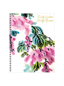 Floral Large Weekly/Monthly Academic Year Planner - 2018/2019