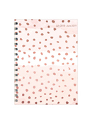 Dots Medium Weekly/Monthly Academic Year Planner - 2018/2019