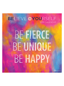 Believe In Yourself 2019 Wall Calendar