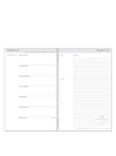 Travelers Weekly Planner by FranklinCovey