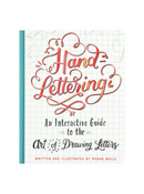 Hand-Lettering Interactive Guide Book