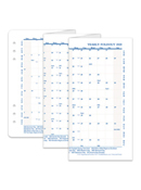 Yearly Foldout Calendar