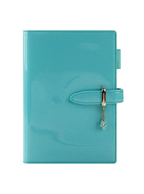 Candy Simulated Leather Strap Binder