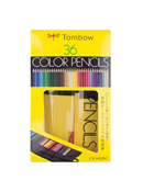 Colored Pencil Rollup Case 36 PC Set
