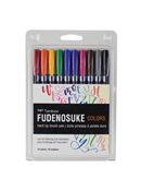 Fudenosuke Brush Pen Color 10 PK