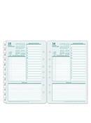 Original One Page Per Day Ring-bound Planner