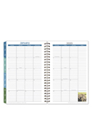 Leadership Monthly Wire-bound Planner