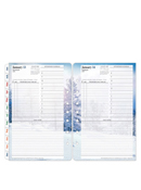 Seasons One Page Per Day Ring-bound Planner
