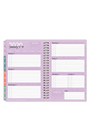 Serenity Weekly Wire-bound Planner