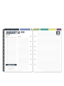 Wanderlust Daily Ring-bound Planner