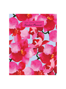 Open Dated Floral Teacher Lesson Planner July 2019 - June 2020, Large 9x11