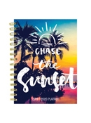 Tropical Sunset Medium Weekly/Monthly Academic Planner - July 2019 - June 2020