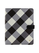 Gingham Farm Planner Love Simulated Leather Wire-bound Cover