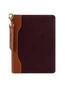 Libby Leather Zipper Wire-bound Cover