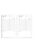 HerStory One Page Per Day Ring-bound Planner