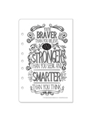 Classic Living Color Coloring Pack - Quotes