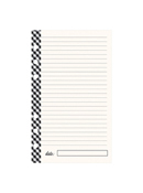 Gingham Farm Planner Love Lined Notepad