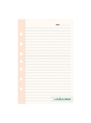 Splendor Planner Love Lined Notepad
