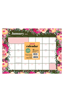 2020 Bouquet Mini Desk Pad Calendar