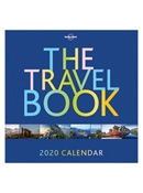 2020 The Travel Book Daily Desktop Calendar