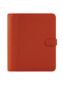 Millie Simulated Leather Snap Binder
