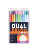 Dual Brush Pen 20pk by Tombow