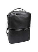 East Side Leather Convertible Backpack and Crossbody