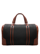 Kinzie Nylon with Leather Trim Duffle