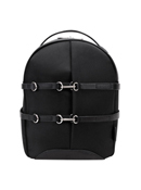 Oakland Nylon with Leather Trim Backpack