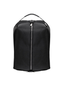 South Shore Nylon with Leather Trim Overnight Backpack