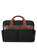 Southport Nylon with Leather Trim Briefcase