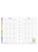 Her Point of View Two-Page Monthly Calendar Tabs