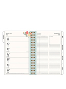 Gingham Gardens Planner Love Weekly Wire-Bound Planner