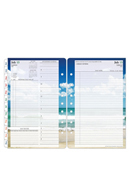 Seasons Two Page Per Day Ring-bound Planner