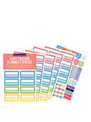 Habit Tracker Planner Stickers