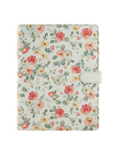 Planner Love Gingham Gardens Simulated Leather Wirebound Cover