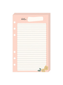 Gingham Gardens Planner Love Lined Notepad