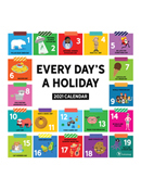2021 Every Day's A Holiday Wall Calendar