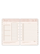 Sandstone Two Page Per Day Ring-bound Planner